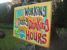 Tropical Tiki Drink Beach Bar Margarita Sign by FRANSCOUNTRYNY, $23.95