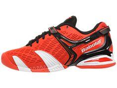 Babolat Propulse 4 Orange/White/Black Men's Shoes