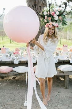 Pink Hens Day - Pre-Wedding Inspiration in Australia Hen Night Ideas, Hens Night, Hen Ideas, Picnic Decorations, Bridal Shower Decorations, Hen Party Balloons, Big Balloons, Latex Balloons, Boho Hen Party