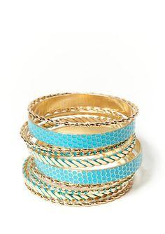 fun spring/summer bangles