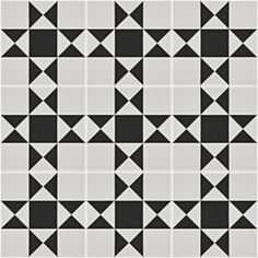 Grosvenor™ Black/White Tile