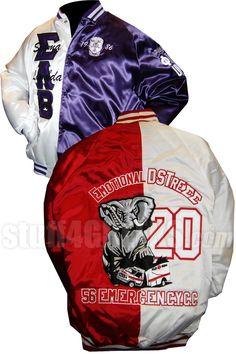 Custom Two-Tone Satin Baseball Jacket  Item Id: CUS-TTBBJ  Retail Price: $199.00  You Save: $19.00  Price: $199.00  Your Price:  $180.00
