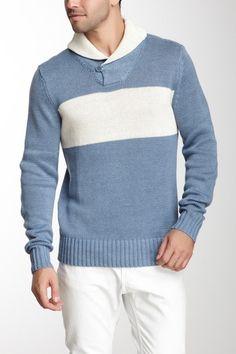 Shawl Collar Pullover on HauteLook