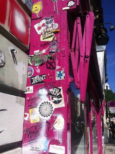 Street Stickers and Colours Inspirational Artwork, Street Art Graffiti, Vienna, Colours, Stickers, Decals
