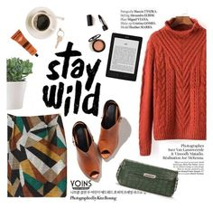"""""""stay wild"""" by punnky ❤ liked on Polyvore featuring Prada, Aesop, Maison Margiela, Haute Hippie and yoinscollection"""