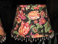 Handmade Lamp Shade by Maya at The Londonderry Inn, Vermont