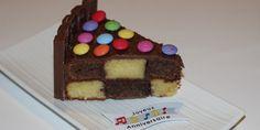 Gâteau damier (au Thermomix) - Les Recettes de Maud
