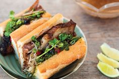 The Pig and the Lady's pho-French-dip banh mi, one of the 100 Best Dishes in Hawaii.  Photo by Steve Czerniak. | HONOLULU Magazine