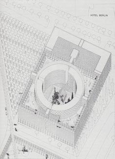 Oswald Matthias Ungers. Hotel Berlin, 1977