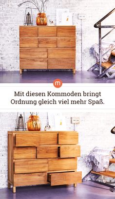 Kommoden für mehr Ordnung The actual halls, which in turn are some of the locations Living Room On A Budget, Living Room Colors, Small Living Rooms, Rugs In Living Room, Living Room Decor, Diy Furniture On A Budget, Bedroom Furniture Sets, Decoration Restaurant, Bedroom Storage