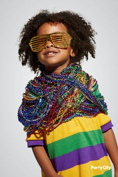 ed9165720e7a Head down to Bourbon Street with our Mardi Gras party accessories! Mardi  Gras Costumes,