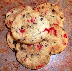 Hot Chocolate Cookies by CookieCircles on Etsy, $14.00  These cookies pack a nice punch. There's semi-sweet chocolate chips as well as cinnamon candies (think red hots!), some cinnamon and a touch of red chili. Not spicy but it all adds a little interest to a sweet sugar cookie!    These cookies come 2 dozen per order. Need more? Just convo me and I can set up a custom order for you.