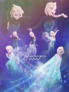 """""""that perfect girl is gone!"""" Elsas transformation"""