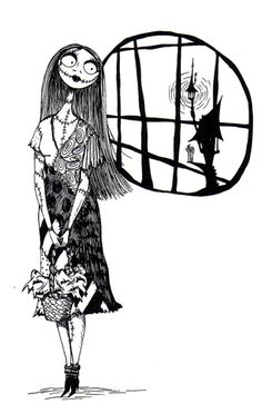 Sally, art from The Making of The Nightmare Before Christmas