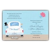 Just Married Limo Rehearsal Dinner Invitations | PaperStyle