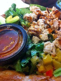 Mango Chipotle Chicken Salad from Baja Fresh. Chipotle Chicken, Prepped Lunches, Restaurant Kitchen, Chicken Salad, Salads, Mango, Curry, Fresh, Ethnic Recipes