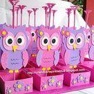 centro de mesa para aniversario 15 anos - Pesquisa Google                                                                                                                                                                                 Más Owl Parties, Owl Birthday Parties, Baby Birthday, Birthday Party Decorations, Baby Shower Decorations, Owl Crafts, Diy And Crafts, Baby Shower Parties, Baby Boy Shower