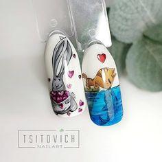 "Ногти / Пошаговые МК / Маникюр on Instagram: ""Если хочешь тоже к нам на страницу , то оставляй смайлик под постом👇 . @tsitovich_nailart . МК этих милах к Дню святого Валентина❤🤗 ➡️…"" Valentines Day, Photo Wall, Gemstone Rings, Gemstones, Nails, Jewelry, Walls, Community, Watercolor Painting"