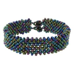 Night in Alaska Bracelet | Fusion Beads Inspiration Gallery