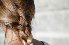 Braided Hairstyles, Cool Hairstyles, Sleep Hairstyles, Hairstyles Haircuts, Cheveux Ternes, Braiding Your Own Hair, Overnight Hairstyles, Hair Growth Cycle, Dyed Blonde Hair