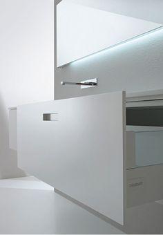 Casabath _ podría ser un solo cajón profundo Ummmm? con otro delgado encima como los de delanno de la cocina. podría ser mas lindo!