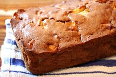 Apple Cider Bread  2 cups all-purpose flour  1 teaspoon baking powder  1 teaspoon salt  1 teaspoon baking soda  1 teaspoon ground cinnamon  1/2 teaspoon ground cloves  1/4 cup butter, at room temperature  2/3 cup granulated white sugar  1/3 cup light brown sugar, packed  2 large eggs  1/2 cup apple cider  2 1/4 cups chopped apples (peeled and cored)  1 tablespoon freshly squeezed lemon juice
