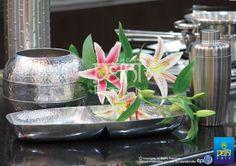 Elegant & functional….metal finishes beyond sheen at IHGF Delhi Fair, India #source #sourcing #tableware
