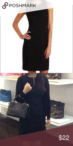 Anne Klein black sheath dress A staple for every closet LBD, perfect for the office. In good condition. Sleeveless with a work appropriate length. Anne Klein Dresses Midi