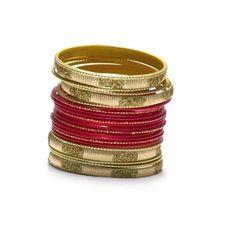 Liquidationprice.com - Bangle Bracelet Sets of 24. Confetti Rectangle Red, $3.00 (http://www.liquidationprice.com/bangle-bracelet-sets-of-24-confetti-rectangle-red/)