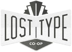 Lost Type Co-op | Great fonts!