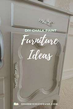 Get inspiration & ideas for your next big chalk paint project. See our chalk paint projects featuring Annie Sloan, Maison Blanche and even our homemade chalk paint! #ChalkPaint #ChalkPaintProjects #ChalkPaintIdeas #ChalkPaintFurniture #PaintingFurniture #AnnieSloan #Upcycle #FrenchProvincial