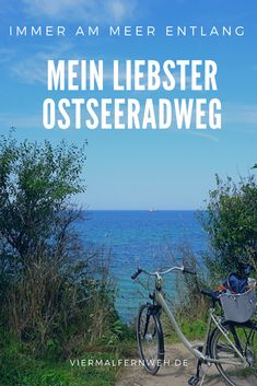 Bike Path, Am Meer, Baltic Sea, Continents, In The Heights, Seaside, Paths, The Good Place, Cool Pictures