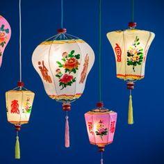 Lantern Chinese Pink S