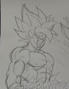 うし (@AKABEC0) | Twitter Goku Drawing, Batman Drawing, Ball Drawing, Anime Drawings Sketches, Dragon Ball Gt, Simple Flower Tattoo, Pokemon Funny, Fighting Poses, Pictures To Draw