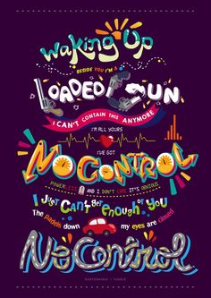 A clever One Direction fan has created lyric art for the song.