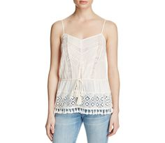 FRENCH CONNECTION Florence Tassel-Detail Top | Bloomingdale's