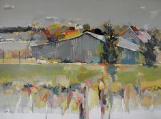 love his colors josef kote, kote paintings, kote art, abstract landscapes