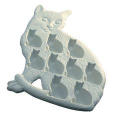 cat ice cube tray