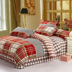 Boys Plaid Bedding Sets