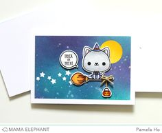 STAMP HIGHLIGHT : MEOWLLOWEEN | mama elephant | design blog | Bloglovin'