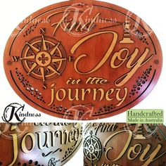 We are all on a journeyhere's hoping you find joy along the way! #inhiskindness #inspirational #quotes #choosejoy #cantstopme #today #positive #journey #love #adventureawaits #yolo #lifeisbeautiful #spiritual #lasercut #laserengraving #woodworking #creativity #art #handcrafted #homedecor #wallart #wallhanging #madeinaustralia #handcrafted