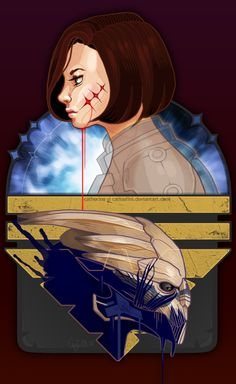 ME2 - Parallel by Catloafini.deviantart.com on @deviantART #masseffect #shakarian