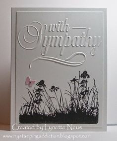 My Stamping Addiction: Simple Sympathy