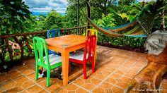 Forest Habitat, Adventure Activities, Outdoor Furniture Sets, Outdoor Decor, Tropical Garden, B & B, Costa Rica, Habitats, Terrace