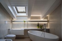 Fylo - linear profile by Tràddel collection  lighting architecture  #home #interiors #LED #lighting #design #bathroom