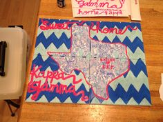 Except with Kappa Delta and state of MS! Alpha Phi Omega, Kappa Delta, Alpha Chi, Phi Mu, Chi Omega, Theta, Gamma Phi Crafts, Sorority Crafts, Sorority Canvas