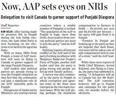 Now AAP sets eyes on NRIs