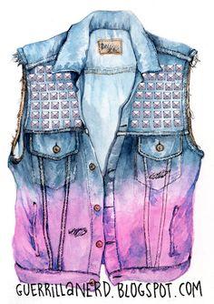 Guerrilla Nerd Fashion Illustrations