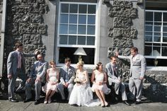 Knappogue Castle has captured the hearts of many brides and grooms over the years. West Coast Of Ireland, Castles, Over The Years, Groom, Relax, Weddings, Bride, Party, Image