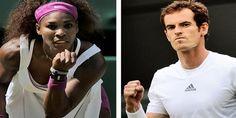#SerenaWilliams, Andy #Murray cruise at rain-lashed #Wimbledon